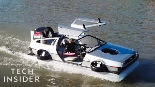 DeLorean Hovercraft Is Perfect For