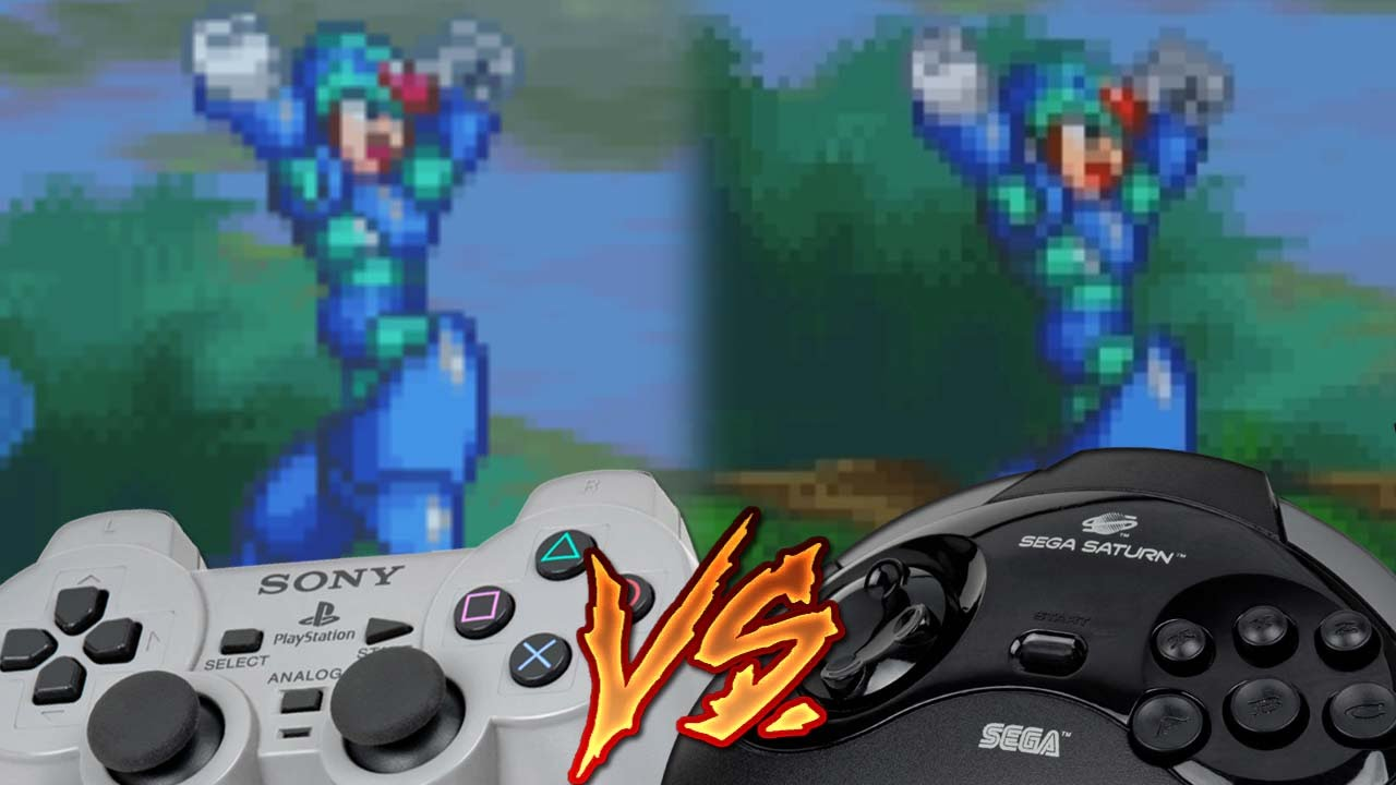 Playstation Vs Sega Saturn Mega Man X4 Youtube