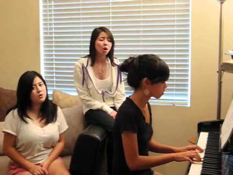 Jar of Hearts (cover with Tiffany & Evelyn) by Christina Perri with BLOOPERS