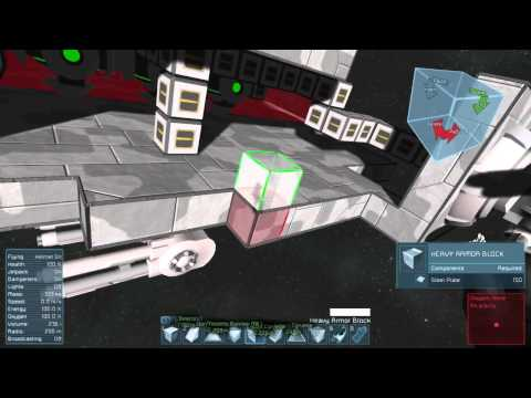 Space Engineers-Nuclearcatfish Shipyards-Luna Class Dreadnought