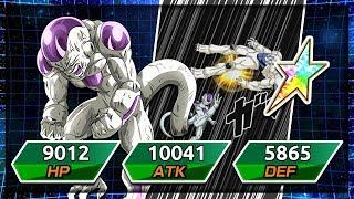 *NEW* 100% Rainbow star Final form Frieza showcase! The L card! | Dragon Ball Z Dokkan Battle