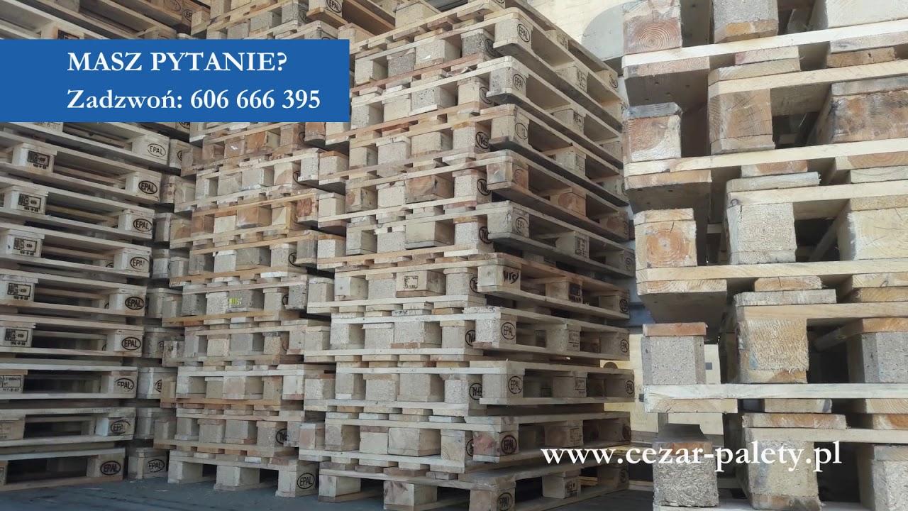 Fantastyczny CEZAR skup i sprzedaż palet używanych, palety EURO Bydgoszcz FQ49