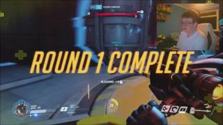 The most clutch competitive ending ever?!?!!? | Overwatch time! | David Gooding