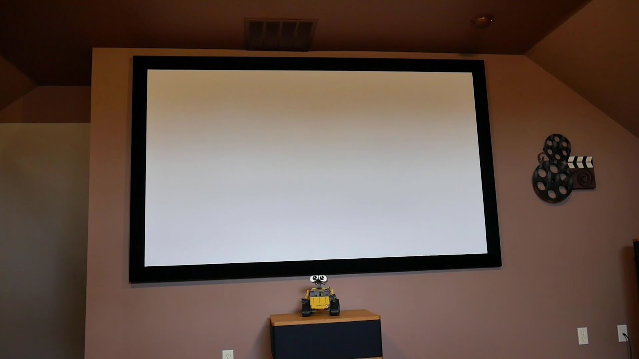 DIY Home Theater Screen Conversion