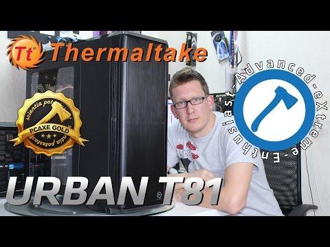Thermaltake Urban T81 - Recenzija [PCAXE.COM]
