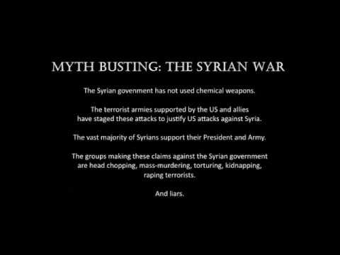 "An American Housewife in Syria: Busting the ""chemical weapons"" myth"