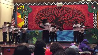 PS 118 Wild Things Step Team