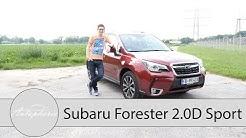 Subaru Forester 2.0D Sport Lineartronic Fahrbericht / Der Klassiker mit Boxer-Diesel - Autophorie