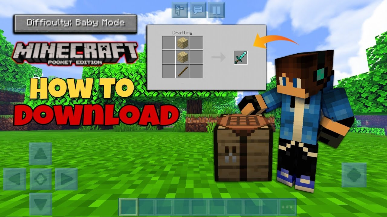 How To Download Baby Mod Add on in Minecraft Pocket Edition Baby