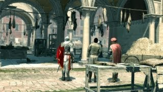 Benvenuto: Ezio and Leonardo da Vinci Arrive in Venice (Assassin's Creed 2)