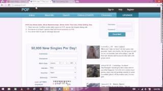 How to Change POF Password - POF Online Dating