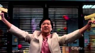 Community ; modern warfare(paintball) Senor Chang's final scene (full) ( HD )