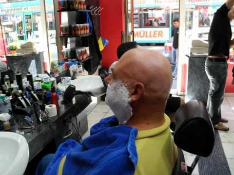 Glatze Beim Friseur