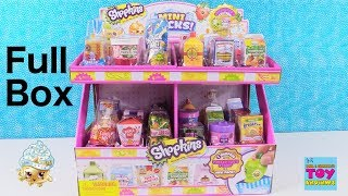 Shopkins Collectors Edition Mini Packs Season 10 Full Box Opening Toy Review | PSToyReviews