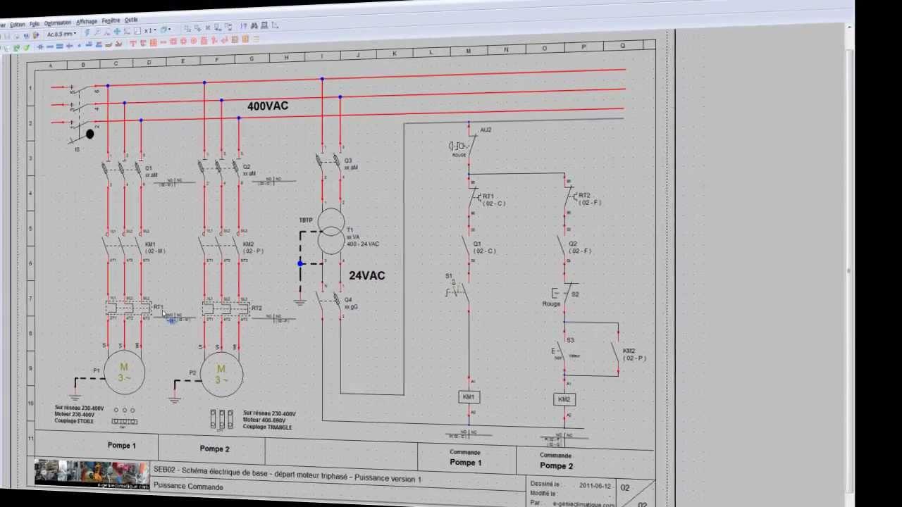 230v 1 Phase Wiring Diagram Free Picture Seb02 Sch 233 Ma 233 Lectrique D 233 Part Moteur Triphas 233 D 233 Marrage