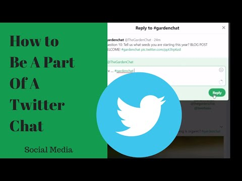 How to Be A Part Of The Conversation on Twitter Chat