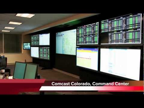 video wall noc with crestron digital media system - Video Wall Design