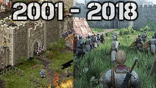 Evolution Of Stronghold 2001 - 2018