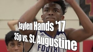 Jaylen Hands '17, 35 Points vs. Saints, UA Holiday Classic Tip-Off Game, 12/26/16