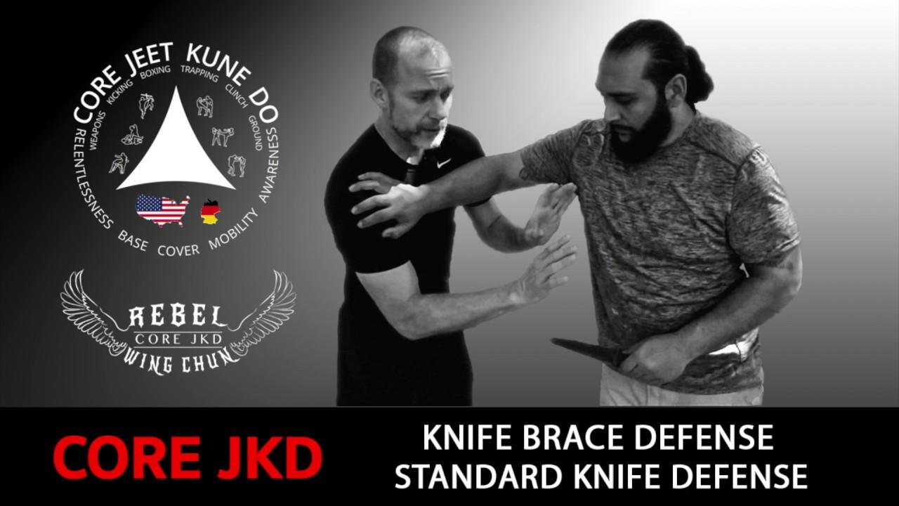 Core JKD Knife Brace Defense Video