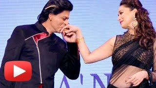 Shah Rukh Khan Romances With Madhuri, Katrina, Anushka, Rani At Yash Chopra Birthday 2013