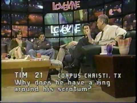 1999  MTV's LOVELINE w guest Andrew Keegan  FULL EPISODE