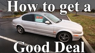 What is a Good Deal when Buying a Used Car? (How to Buy a Used Car)(Learn how to call the owner of a used car, figure out what the car is worth, run a free VIN number check, and many other tips and tricks. If you see a used car for ..., 2016-04-16T18:00:00.000Z)