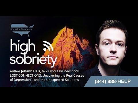 High Sobriety Ep. 22 - Johann Hari