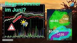 Wetterprognose: Deutscher Regensommer? Schauer, Gewitter, Schwüle und vor allem viel Regen!