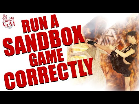 Running The Ultimate Sandbox Game - Correctly  #35