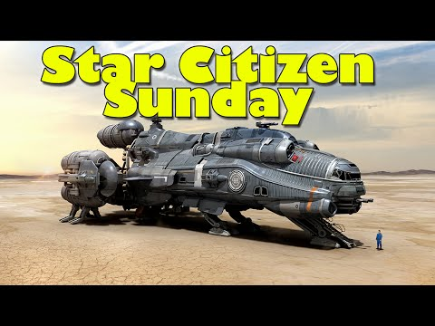 Star Citizen Sunday - Meet The Hull Series, How Cargo Works & Grabby Hands Gameplay