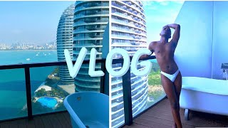 SANYA VLOG Part 1 Phoenix Island Resort