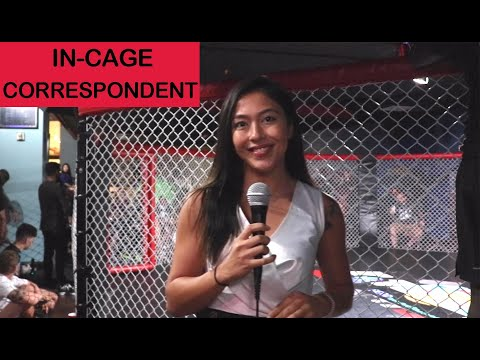 Alex Wendling's FIRST time as In-Cage Correspondent