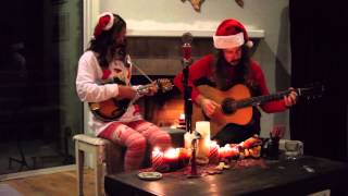 """Blue Christmas"" by The Lady & The Outlaw"