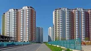 видео Жилой квартал в Солнцево