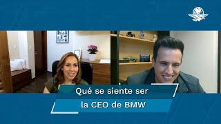 Platicamos con la directora general de BMW en México, quien nos cuenta qué es lo más difícil de vender autos en México, las diferencias entre su gestión profesional y su vida personal y un recuento de su carrera