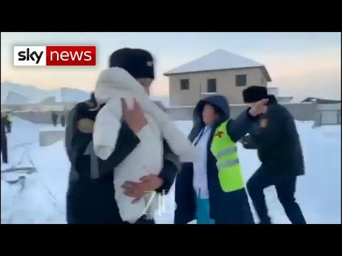 Kazakhstan plane crash: Baby pulled from wreckage