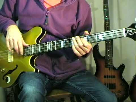 The Sandpipers - Guantanamera - Bass Cover