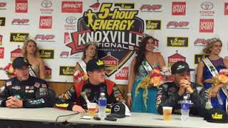 2016 Knoxville Nationals Press Conference