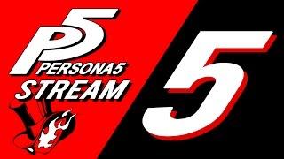Game Virgins Stream - Persona 5 Part 5