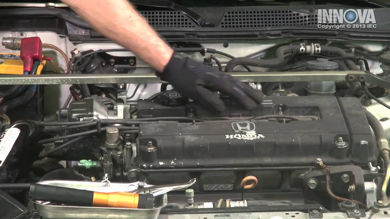 How To Diagnose A Misfire - Spark Plug Wires - 1998 Acura Integra