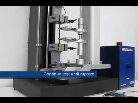 Rubber and Elastomer Tensile Strength Test - ASTM D412
