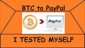 How to Exchange Your Bitcoin (BTC) to PayPal (USD) WITH LOWEST FEES