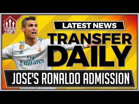 MOURINHO Confirms RONALDO Interest! Man Utd Transfer News Latest