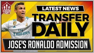 MOURINHO Confirms RONALDO Interest! Man Utd Transfer News Latest