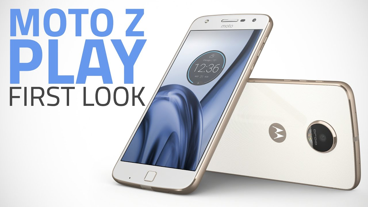 Moto Z Play Hands On Youtube