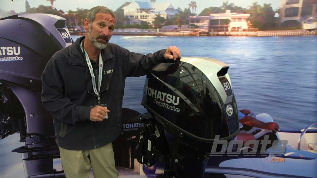 Tohatsu Shows off New 250 and 50HP Outboards