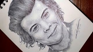 How to draw Harry Styles (Como dibujar a Harry Styles)