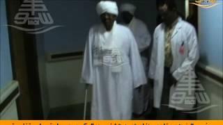 الرئيس البشير يغادر مستشفى رويال كير بعد إجراء عملية جراحية ناجحة