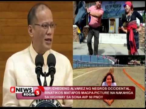 #NewsRoom5 | Rep. Mercedes Alvarez, special mention sa SONA Ni Pnoy